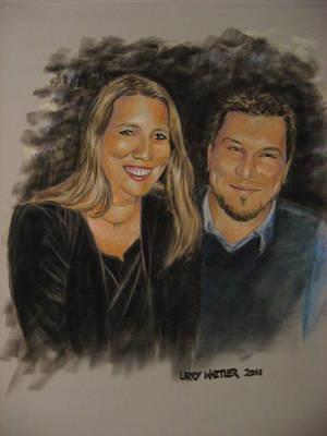 Dan And Missy Art Print