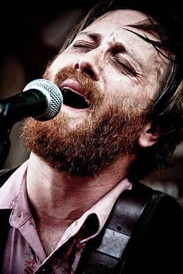 Dan Auerbach Photograph - Dan Auerbach And The Fast Five Performs At The Mean Eyed Cat Dur by Anna Webber
