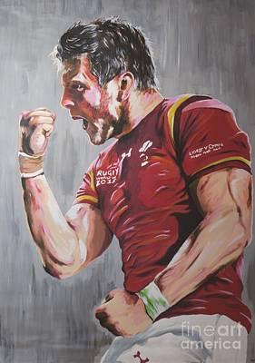 Dan Biggar Original by Jamie Bishop