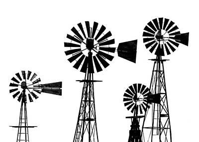 Photograph - Dan Cyn's Windmill Museum by Gary Warnimont