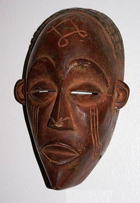 Sculpture - Dan Mask by Everett Spruill
