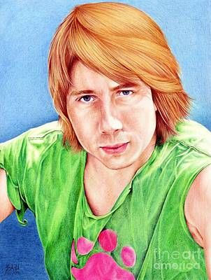 Drawing - Dan by Sheryl Unwin