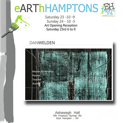 Anahi Decanio Mixed Media - Dan Welden Participates In Earthhamptons by Earth HAMPTONS