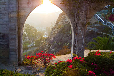 Photograph - Dana Point Harbor Archways by JoDee Luna