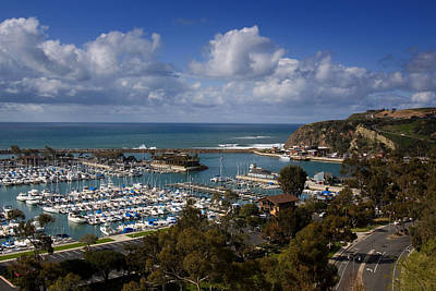 Dana Point Harbor California Art Print