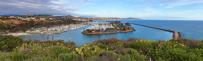Photograph - Dana Point Panoramic by Cliff Wassmann