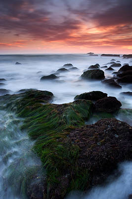 Dana Point Sunset Art Print by Eric Foltz