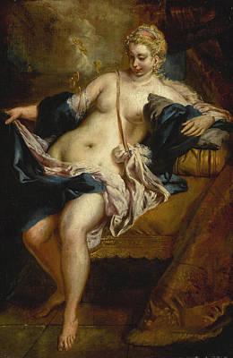 Painting - Danae by Giovanni Antonio Guardi