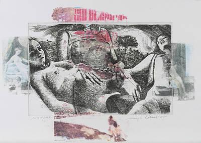 Danae-zabriskie Point-3 Nudi E Tre Alberi Art Print