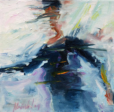 Painting - Dance 1 by Rick Nederlof