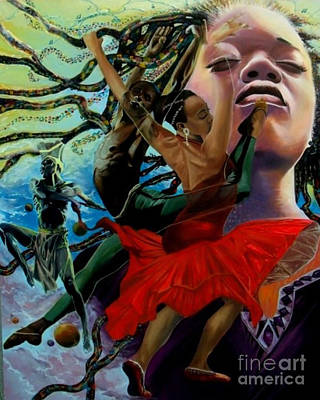 Painting - Dance by Addonis Parker