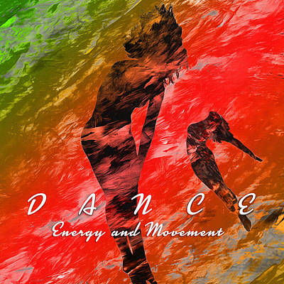Abstract Movement Digital Art - Dance by Anthony Caruso