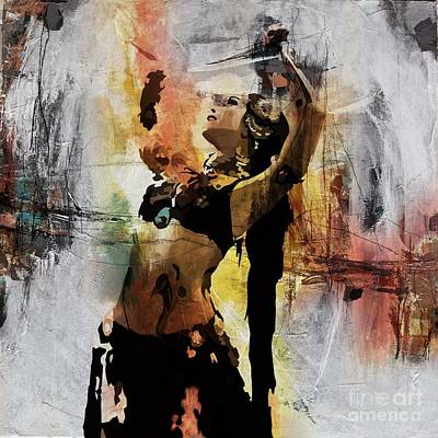 Passionate Painting - Dance Art  by Gull G