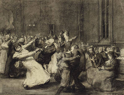 Dance At Insane Asylum Art Print