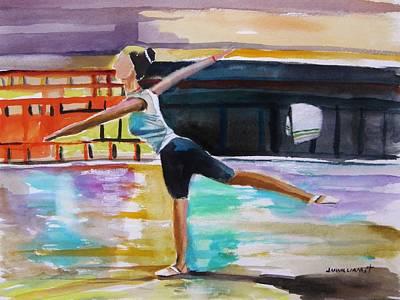 Dance Class Art Print by John Williams