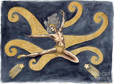 Dance Art Print by Debbie Davidsohn