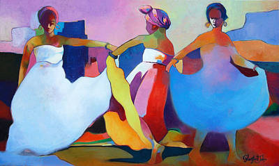 Painting - Dance Fest by Glenford John