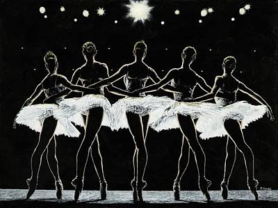 Painting - Dance Finale by Richard Young
