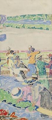Dance Floor Painting - Dance Floor by Carl Wilhelmson