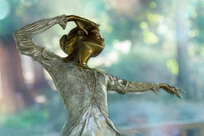Dance Gesture Art Print by Terry Davis