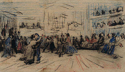Dance Halls Painting - Dance Hall Antwerp by MotionAge Designs