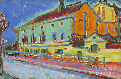 Previously Painting - Dance Hall Bellevue by Celestial Images