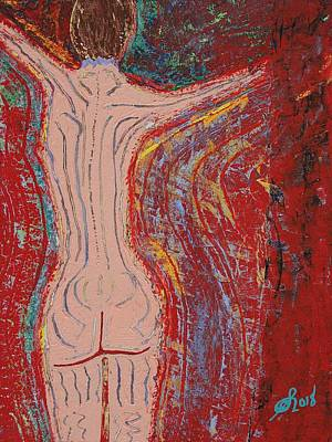 Painting - Dance Here Now Original Painting by Sol Luckman