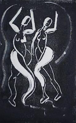 Dance IIi Art Print by Dan Earle