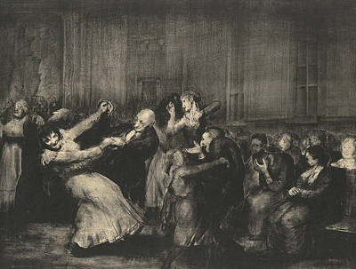 Relief - Dance In A Madhouse by George Bellows