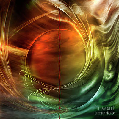 Digital Art - Dance In Color Symphony by Johnny Hildingsson