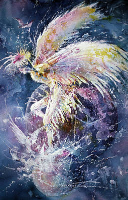 Painting - Dance In Flight by Connie Williams
