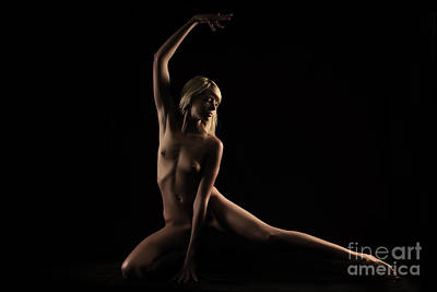 Photograph - Dance In Solitary by Robert WK Clark