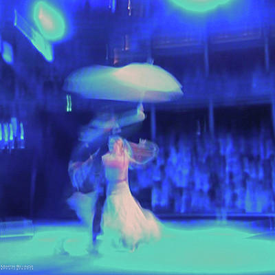 Photograph - Dance In The Blue by Martin Billings