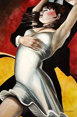 Dance Art Print by Lelia DeMello