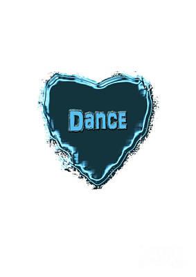 Digital Art - Dance by Linda Prewer