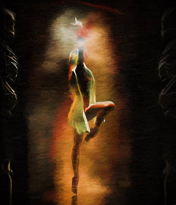 Dance Painting - Dance Macabre by Bob Orsillo