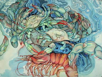 Bekman Wall Art - Painting - Dance Macabre II by Liduine Bekman