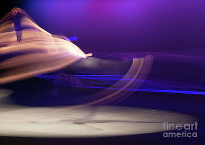 Photograph - Dance Movement - Purple 2 by Scott Sawyer