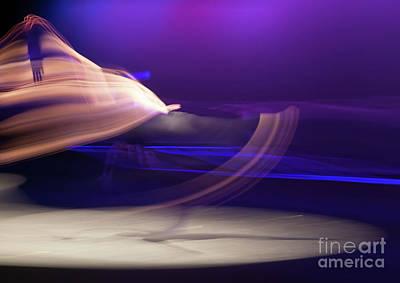 Photograph - Dance Movement - Purple 2 by Scott Sawyer