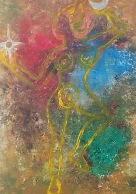 Painting - Dance Of Creation by Janice T Keller-Kimball