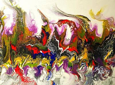 Painting - Dance Of Flames by Joanne Smoley
