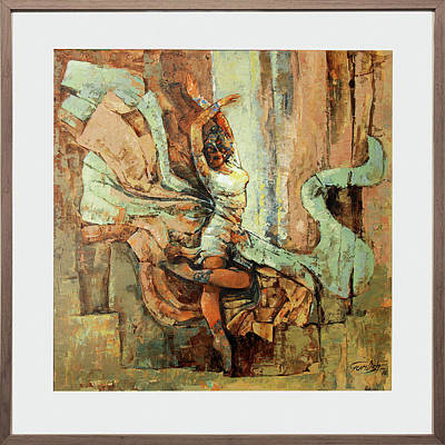 Michaeljackson Painting - Dance Of Mohenjo Daro by Famous paintings Gurdish pannu