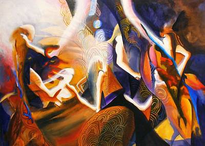 Painting - Dance Of The Druids by Georg Douglas