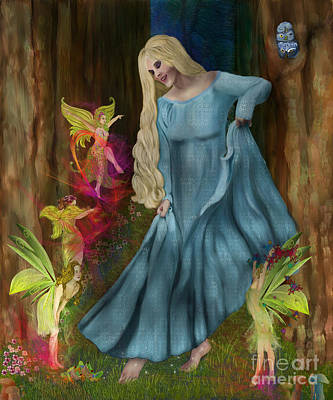 Digital Art - Dance Of The Fairies by Sydne Archambault