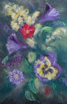 Pastel - Dance Of The Flowers by Sandra Lee Scott