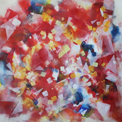 Painting - Dance Of The Lights by Christiane Kingsley