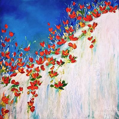 Painting -  Dance Of The Spring by Teresa Wegrzyn