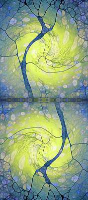 Digital Art - Dance Of The Winter Trees by Tara Turner