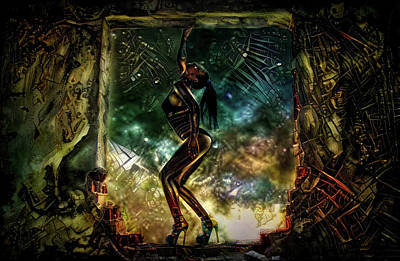 Mixed Media - Dance On The Ruins, by Lilia D