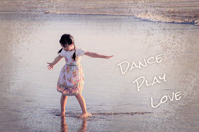 Photograph - Dance Play Love by Bonnie Follett